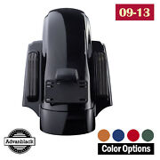 Advanblack Color Matched Cvo Style Rear Fender System For Harley Touring 09-13