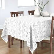 Tablecloth Abstract Baby Scandinavian Black And White Arrow Cotton Sateen