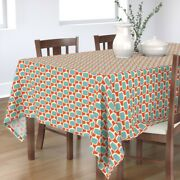 Tablecloth Holidays Decorations Baubles Ornaments Christmas Cotton Sateen