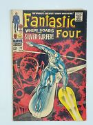 Fantastic Four 72 Marvel Key Issue Iconic Silver Surfer Cover Silver Age Grail