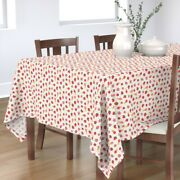 Tablecloth Strawberry Fruit Ice Cream Summer Baby Girl Clothes Cotton Sateen