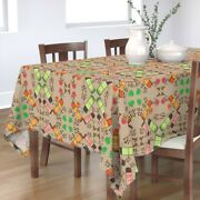 Tablecloth Coffee Thermos Thermoses Coffee Bean Cotton Sateen