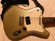 Extremely Rare Squier Super-sonic Squire Single Pickup Custom Supersonic Silver