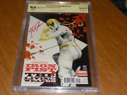 Iron Fist The Living Weapon 2 - Cbcs 9.6 White Pages And Signed By J.g. Jones