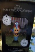 Nightmare Before Christmas Sally With Pumpkin Led Lighted Halloween Inflatable