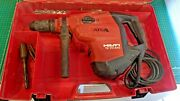 Hilti Te 70-atc/avr Rotary Hammer Drill In Hard Case With Bits Tested