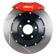 Disc Brake Upgrade Kit-red Caliper / Slotted Rotor Rear Stoptech 83.646.0023.71