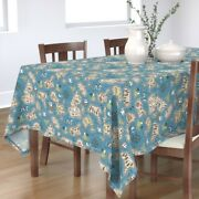 Tablecloth Map Maps Illustrated Maps Adventure Nautical Pirate Cotton Sateen