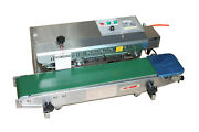 110v Automatic Continuous Film Sealing Machine Inflating Nitrogen Sealer
