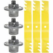 Cub Cadet Xtreme Blade And Spindle Kit 02005019-x 918-05132 Pro Z 500 900 Tank L60