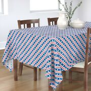 Tablecloth Stars And Stripes Patriotic Usa American Flag Old Glory Cotton Sateen