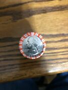 Roll Of 2021-p George Washington Crossing The Delaware Quarters Free Shipping