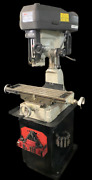 Msc 00685420 Step Pulley Mill Drill Machine Single Phase 3000 Rpm W/ Tooling