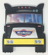 64 Micro Machines Vehicle And Semi Truck Case Lot Vintage 80s Toy Galoob 1988 Cars