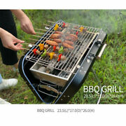 Charcoal Grill Collapsible And Portable Handle Design Bbq Grill For Outdoor Bbq