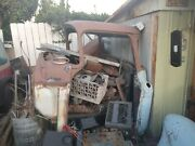 1957 Chevy Cameo Cab With Hood Doors Fenders And Lots Of Miscellaneous Parts