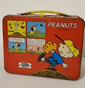 Peanuts Metal Lunchbox With Thermos
