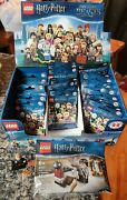 Lego Harry Potter Series 1 Minifigures Retired Lot 30 Unopened Blind Bags 71022