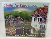 White Mountain Puzzles 1000 Pieces Quilts For Sale Diane Phalen New Rare 2006