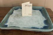 Mccartyandrsquos Pottery Jade 8andrdquo Tray Genuine- 1st Quality
