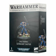 Warhammer 40k - Limited Edition Sergeant Castus Commerative Series Space Marines