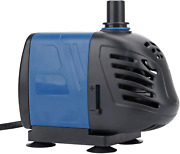 Uniclife 320-1000 Gph Submersible/inline Water Pump For Pond Pool Fountain Aquar