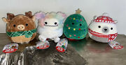 Squishmallows Flip A Mallows Christmas Zaylee Norman Nick Carol Brooke Fred 5