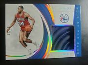2018-19 Panini Immaculate Collection Charles Barkley Sole Of The Game 11/25