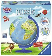 Jigsaw Puzzle 3d Globe Geographical Ravensburger