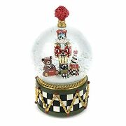 Nutcracker Snow Globe And Music Box Christmas Decoration Holiday Collectibles