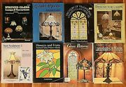 Leadlight Stained Glass Craft Design Hobby Books And Magazines Patterns Lot Of 8