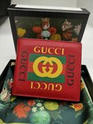 Gg Wallet Authentic Red Color Wallet