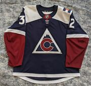 Colorado Avalanche Authentic Adidas Jersey Mic Made In Canada Alternate Sz56
