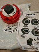 Perko 8500 Series Dual Battery Selector Switch For Fishing Andcruising Boats Etc.
