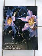 American And European Art Pottery Auctions Catalog Treadway Gallery 1999