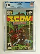 Icon 1 1993 Cgc 9.8 Dc Milestone Collector's Edition 1st Static Minty No Rings