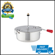 8 Ounce Replacement Popcorn Kettle For Great Northern Popcorn Poppers Silver New