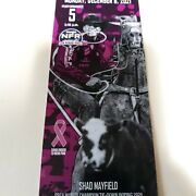 2 National Finals Rodeo Tickets Monday Dec 6 Premium Low Balcony On The Rail