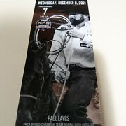 2 National Finals Rodeo Tickets Wednesday Dec 8 Premium Low Balcony On The Rail