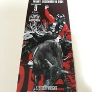 2 National Finals Rodeo Tickets Friday Dec 10 Premium Low Balcony On The Rail