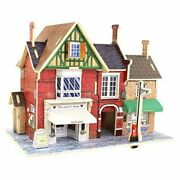 Wood 3d House Of Puzzles British Clothing Store Woodcraft Construction