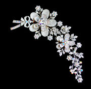 Stunning Kirks Folly Brooch-double Clip-6 Inches By 3-runway Piece Perfect