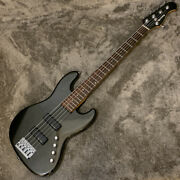 Operation Confirmed History Gh-bj5 Black Metallic History Electric Bass 5 Strin