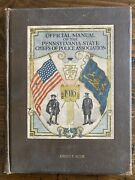 Official Manual Pennsylvania State Chiefs Police Association 1916 Book Michie