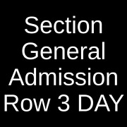 2 Tickets California Roots Festival - 3 Day Pass 5/27/22 Monterey, Ca