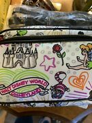 Disney Dooney And Bourke Sketch Hip Pack Nylon Icons Crossbody Purse Placementnwt