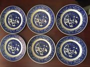 Blue Willow Vintage Dishes-andnbsp 34 Assorted Pieces- Mostly In Good Condition