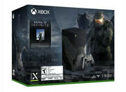 Xbox Series X Console Halo Infinite Limited Edition Bundle Presale Confirmed