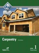 Carpentry, Level 1 Trainee Guide, Hardcover By Nccer Cor, Like New Used, Fr...