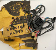 Nos 1960 Chevy Pick Up Truck Dash Main Chassis Wiring Harness W/fuse Block Rare